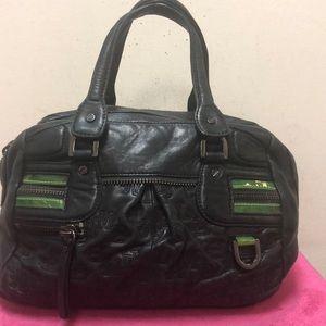LAMB Leather Satchel Purse